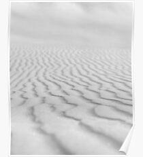 White Sand Poster