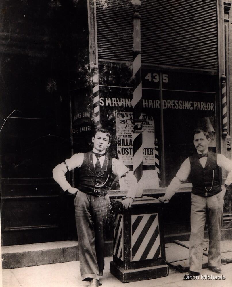 Newman's Barber Shop by Jason Michaels