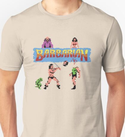 Gaming [C64] - Barbarian T-Shirt