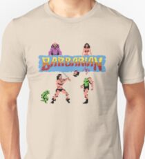 Gaming [C64] - Barbarian Unisex T-Shirt