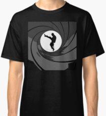 Monty Python Silly Walk 007 Mashup Classic T-Shirt