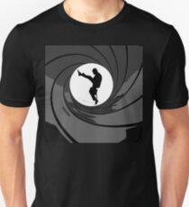 Monty Python Silly Walk 007 Mashup T-Shirt