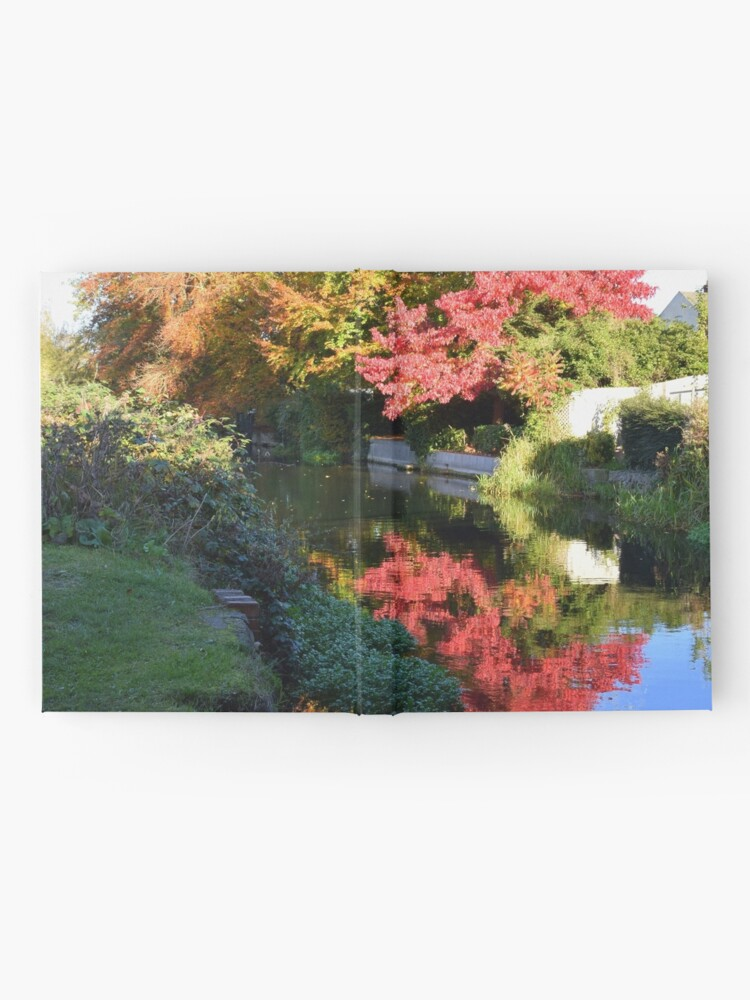 Alternate view of Autumn reflection Hardcover Journal
