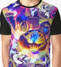 Spring flowers, watercolor painting Graphic T-Shirt