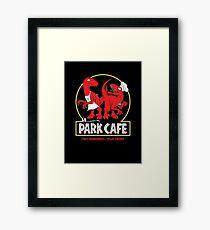 Raptors in the Kitchen 2 Framed Print