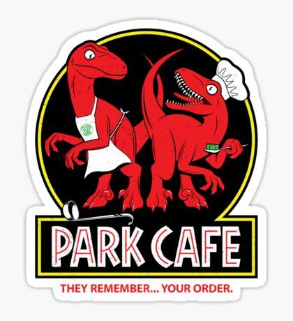 Raptors in the Kitchen 2 Sticker