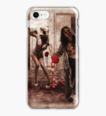 Happy Bride and Zombie Groom iPhone Case/Skin