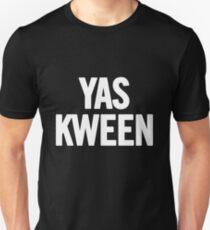 Yas Kween (White) T-Shirt iPhone Case T-Shirt
