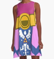 Toon Zelda Dress - Great for fans or casual coplay A-Line Dress