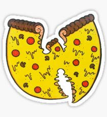 Pizza Rules Everything Around Me Sticker