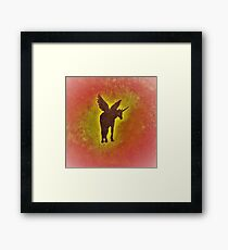 Shadow in the Light Framed Print