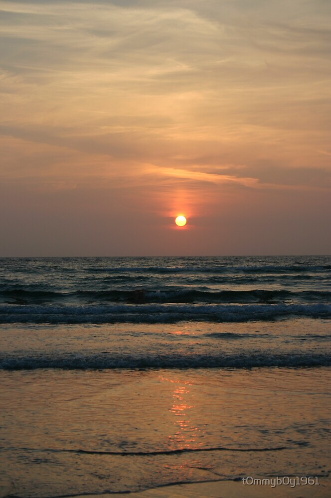 St Ouen Sunset by t0mmyb0y1961