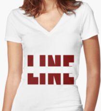 Triana Park - Line - Latvia - Eurovision 2017 Women's Fitted V-Neck T-Shirt