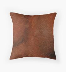 Oily Bust Throw Pillow