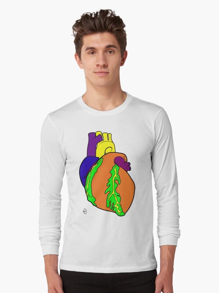 Big Heart  (Alt. Colour 1) by Bizarro Art