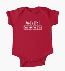 Baby Genius - Periodic Table One Piece - Short Sleeve