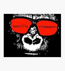 Guerilla Filmmaker Photographic Print