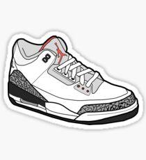 Jordan 3 Apparel Sticker