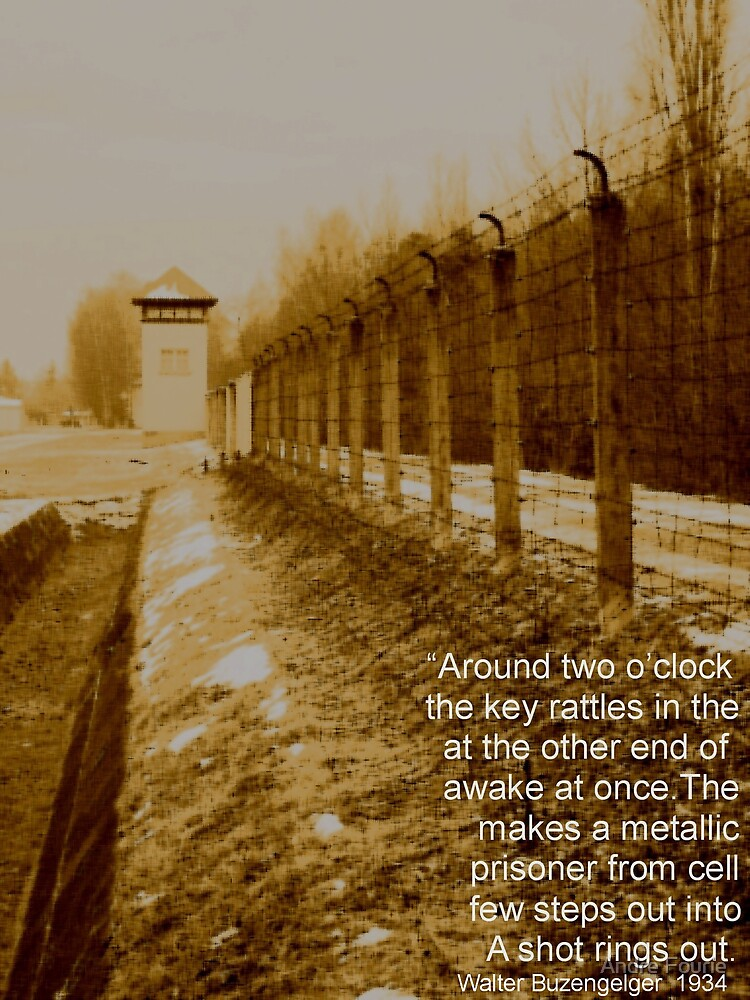 Dachau one by Andre Fourie