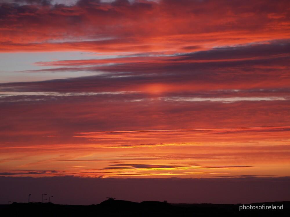 Sunset Tory Island, County Donegal, Ireland. by photosofireland