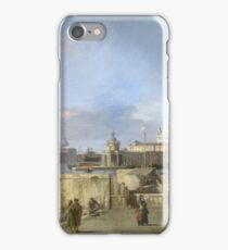 Canaletto - Entrance To The Grand Canal From The Molo, Venice iPhone Case/Skin