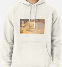 White Persian cat Pullover Hoodie