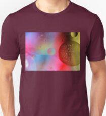 Digital Oil Drop Abstract T-Shirt