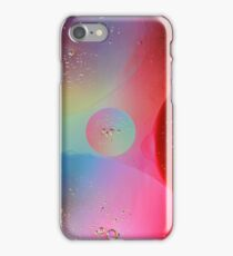 Digital Oil Drop Abstract iPhone Case/Skin