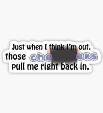 Jimmy Jr's Cheeks 2 Sticker