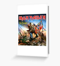 MAIDEN IRON TROOPER KENDALI Greeting Card