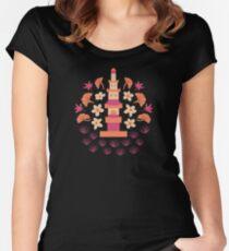 Zen Garden Women's Fitted Scoop T-Shirt