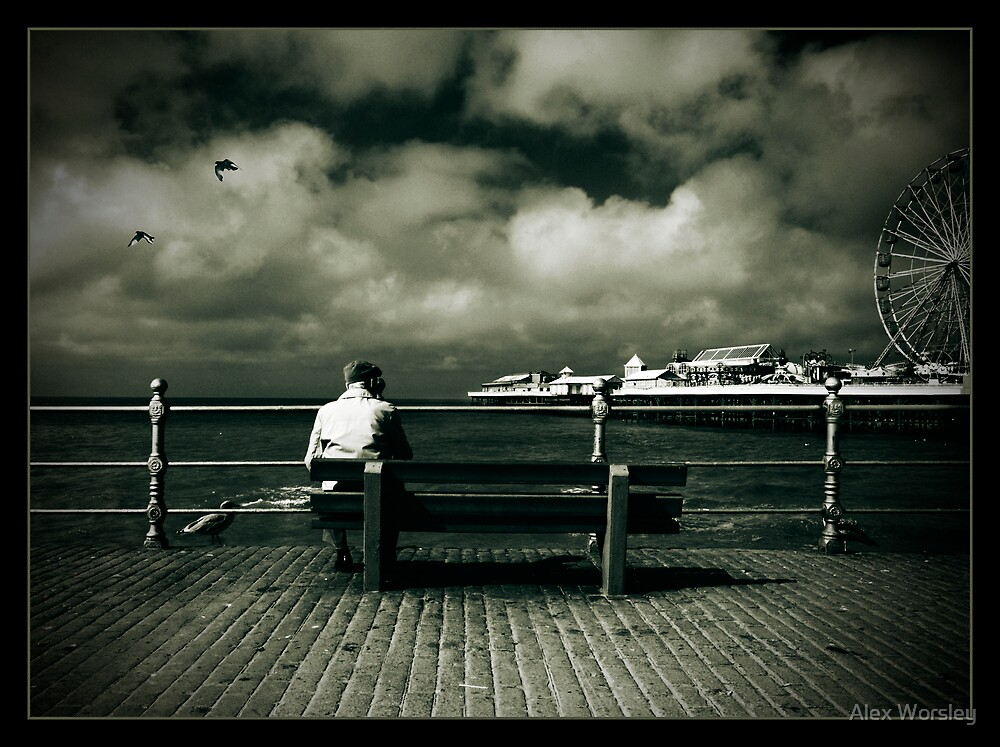 Central Pier  by Alex Worsley