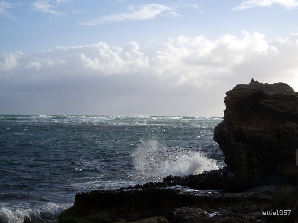 Seascape in WA -  Stormy  weather  by lettie1957