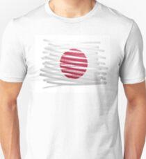 Flag illustration made with pen - Japan Unisex T-Shirt