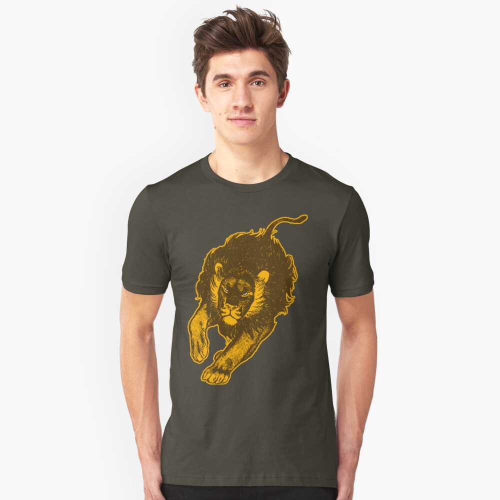 Lion, lion T-Shirts by Cheerful Madness!! Slim Fit T-Shirt