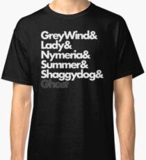 Stark Direwolves Classic T-Shirt