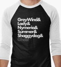 Stark Direwolves Men's Baseball ¾ T-Shirt