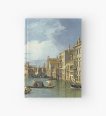 Canaletto - The Entrance To The Grand Canal, Venice Hardcover Journal