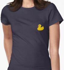 Rubber Duck Women's Fitted T-Shirt