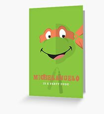 Michelangelo  Greeting Card