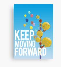 Keep Moving Forward Canvas Print