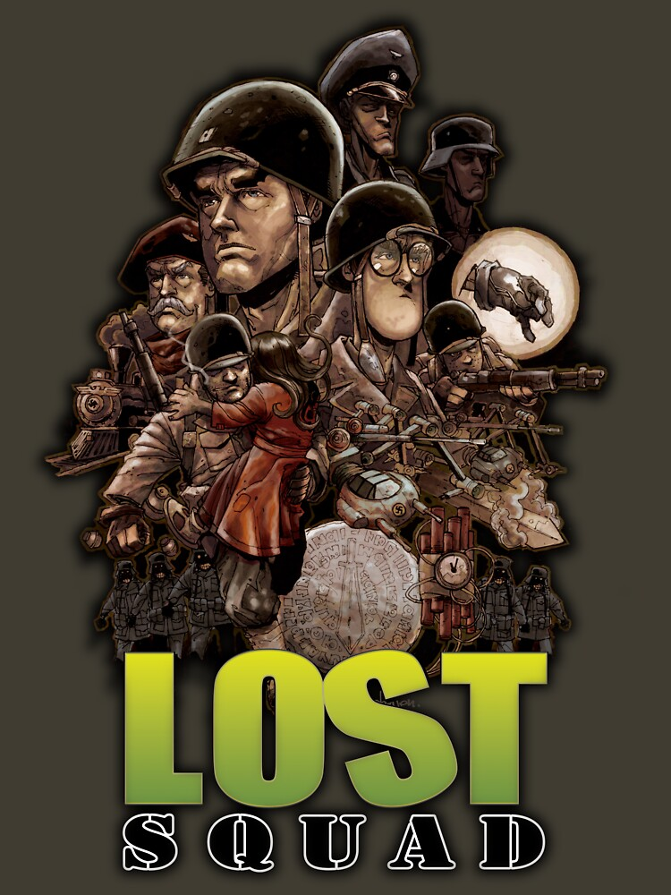 Lost Squad TPB by alanrobinson