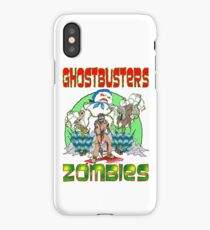 Zombie Ghostbusters iPhone Case/Skin