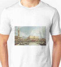Canaletto - The Molo, Venice T-Shirt