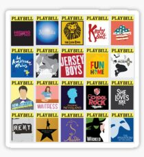 Playbill Collage Sticker