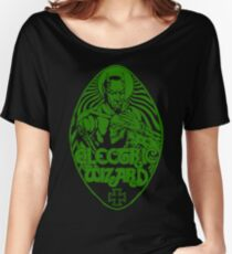 Electric Wizard - Lucifer (Green) Women's Relaxed Fit T-Shirt