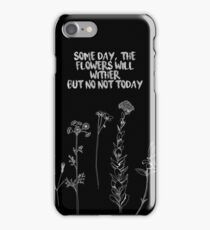 BTS Not Today Song Quote v3 iPhone Case/Skin