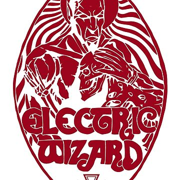 Electric Wizard - Lucifer (Red) by lnfernum