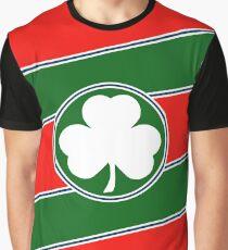 Eddie Irvine Clover Formula 1 Helmet Design Graphic T-Shirt