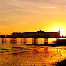 Brighton Sunset by John Lines